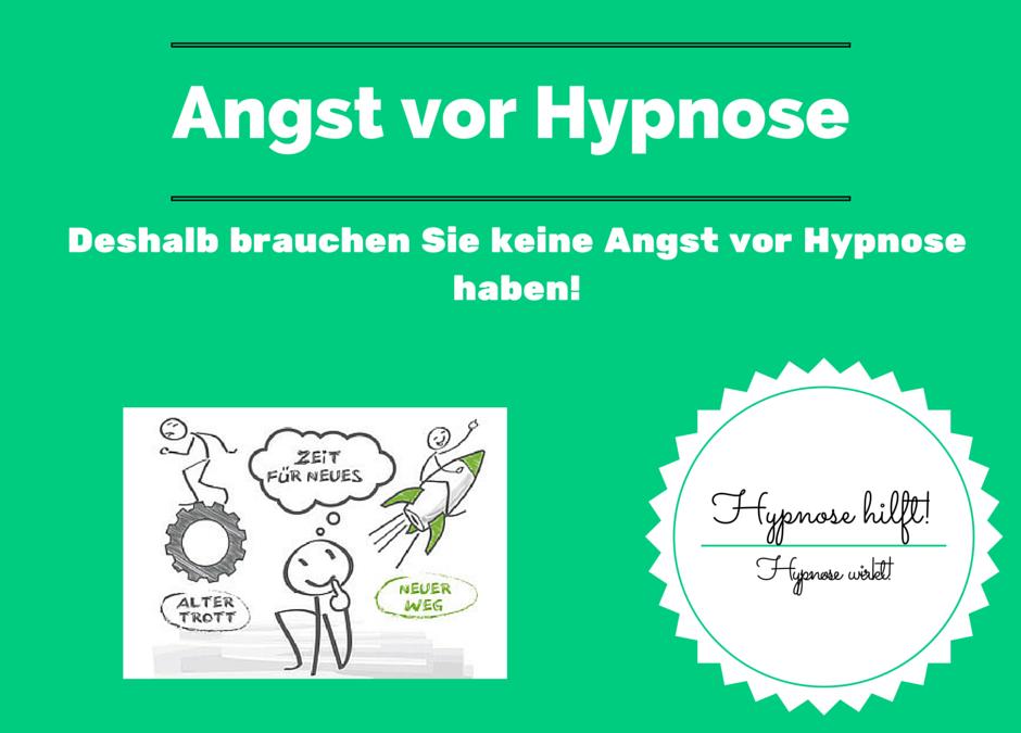 Deshalb brauchen Sie keine Angst vor Hypnose haben