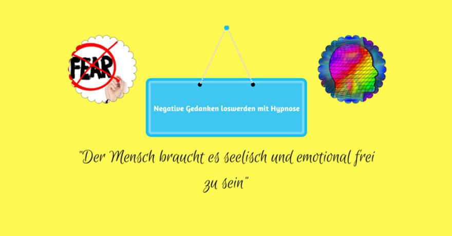 Wie Sie mit Hypnose negative Gedanken loswerden und Optimismus stärken