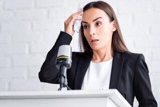 Hypnose bei Redeangst